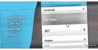 Infinite jquery plugin menu sliding