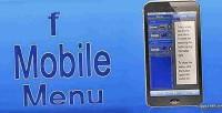 Inspired facebook mobile menu