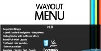 Javascript wayout menu