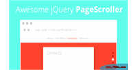 Jquery awesome pagescroller