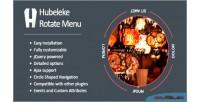 Jquery hubeleke menu rotate circle