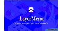 Jquery layermenu menu plugin