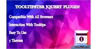 Jquery tooltipster plugin