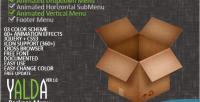 Jquery yalda package menu