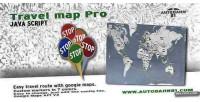 Map travel pro