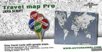 Map travel pro