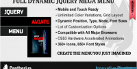 Mega menu jquery css plugin menu dropdown mega