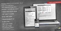 Mega responsive set complete menu