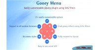 Menu gooey jquery plugin
