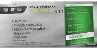 Metro our sidebar
