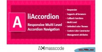 Multi responsive liaccordion accordion level