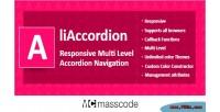 Multi responsive liaccordion accordion level