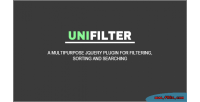 Multipurpose unifilter jquery for plugin searching sorting filtering
