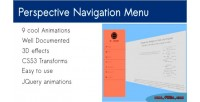 Navigation perspective menu