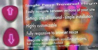 Page single plugin jquery traversal
