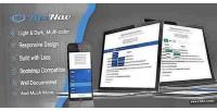 Flexnav responsive multi colors menu nav slide