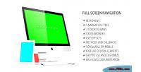 Screen full navigation