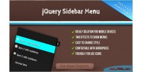 Sidebar jquery menu