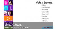 Sidebar metro