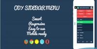 Sidebar ody menu