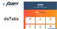 Simple databs plugin jquery tabs