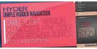 Simple hyder hidden navigation