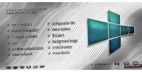 Site fullscreen navigation