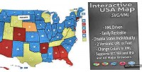 Svg interactive usa map