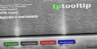 Tptooltip jquery plugin