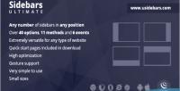 Ultimate sidebars