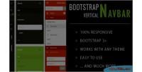 Vertical bootstrap navbar