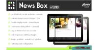 News box jquery contents viewer & slider