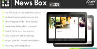 News box jquery contents viewer & slider