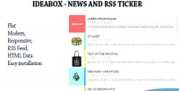 News ideabox rss ticker