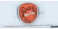Soda cream responsive ticker news jquery