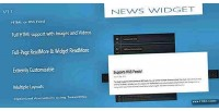 Widget news jquery plugin