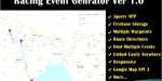 Event racing route planner
