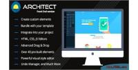 Lite html builder front version end lite