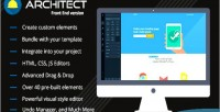Lite html builder front version end lite