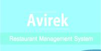 Restaurant avirek pro system management