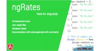 Angular ngratesapp app rating based
