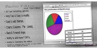 Bemo editor rich text charts with editor