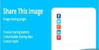 Share this image jquery plugin sharing image