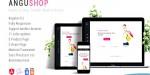 Angular angushop 4 design shop material template