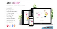Angular angushop 4 design shop material template