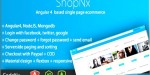 Angular4 shopnx single application page cart shopping