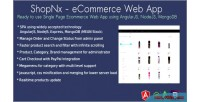 Angularjs shopnx application web ecommerce