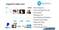 Angularjs skystore online store