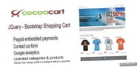 Jquery bootstrap cart shopping paypal