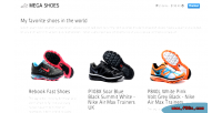 Responsive online store with cart shopping paypal